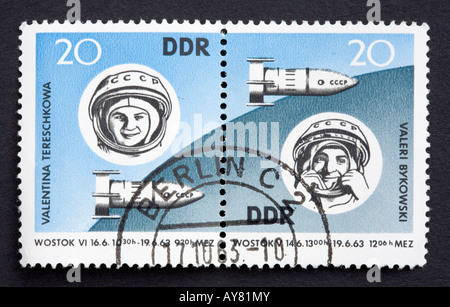 DDR postage stamp - Stock Photo
