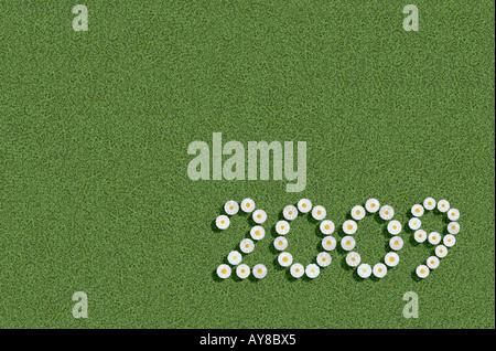 year 2009 - Stock Photo