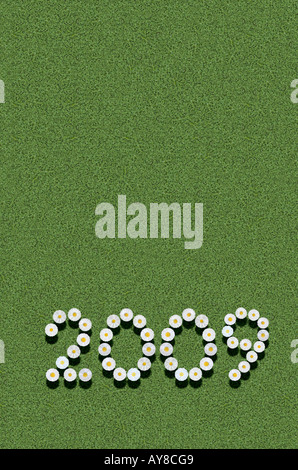 year 2009 - Stock Photo