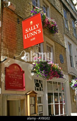 Sally Lunns tearooms BATH England UK - Stock Photo