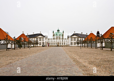 Fredensborg Slot (Castle), Zealand, Denmark - Stock Photo
