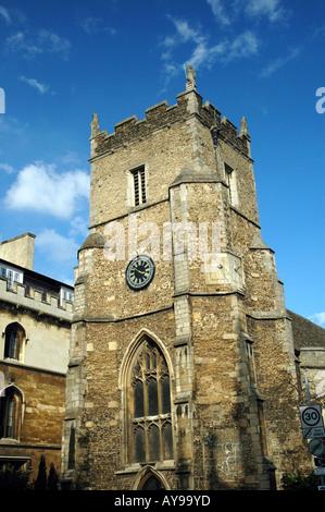 St Botolph's Church on Trumpington Street in Cambridge - Stock Photo