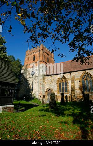 All Saints Church Harbury Leamington Spa Warwickshire England UK - Stock Photo