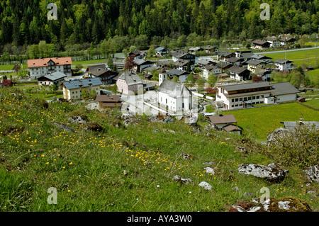 Weissbach near Lofer Salzburger country Austria - Stock Photo