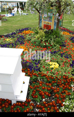 UK Cheshire Knutsford Tatton Hall RHS Flower Show Stockport Council Chadkirk Chapel garden