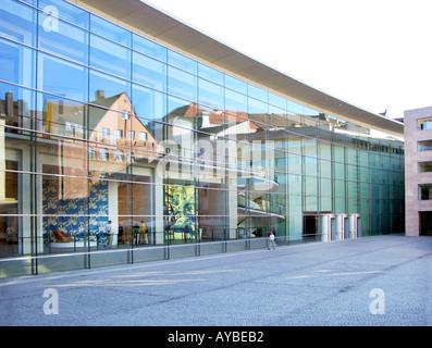 nuernberg NUREMBERG nurnberg nürnberg NEW MUSEUM neues Museum Staatliches museum fuer Kunst und Design ART AND DESIGN - Stock Photo