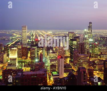 USA ILLINOIS CHICAGO - Stock Photo