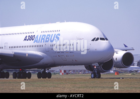 Airbus A380 - Stock Photo