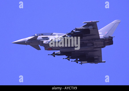 Eurofighter Typhoon T1 operated by the RAF - Stock Photo