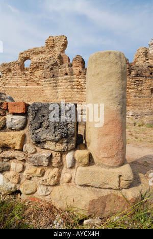 Velia Italy Archaeological remains of the ancient town of Elia - Stock Photo