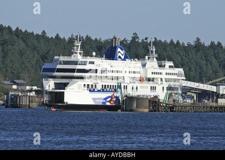 Coastal Inspiration Twin Sister Ship to Coastal Renaissance Berthed in Departure Bay Nanaimo Canada - Stock Photo