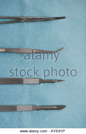 Surgical equipment - Stock Photo