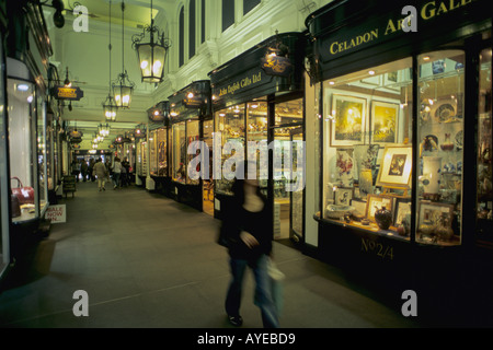 UK England London Picadilly shopping arcade - Stock Photo