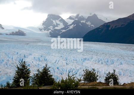 The Perito Moreno Glacier located in the Los Glaciares National Park in Patagonia Argentina - Stock Photo
