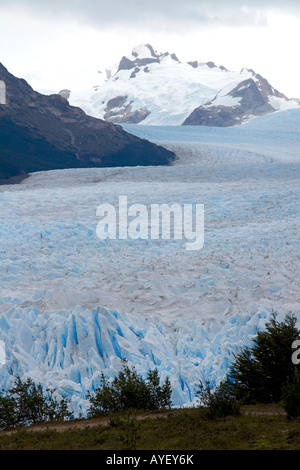 The Perito Moreno Glacier located in the Los Glaciares National Park in Patagonia Argentina - Stock Photo