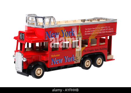 New York City Tour Bus Souvenir - Stock Photo