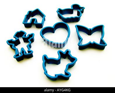 Cake making shapes - Stock Photo