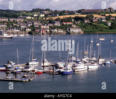 IE - CO. CORK: The Harbour and Town at Kinsale - Stock Photo