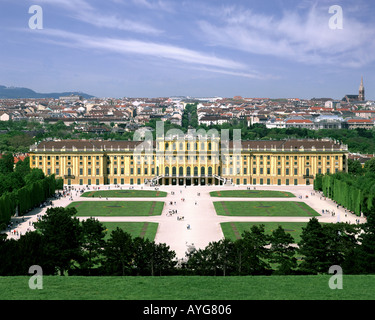 AT - VIENNA: Schoenbrunn Palace and Gardens - Stock Photo