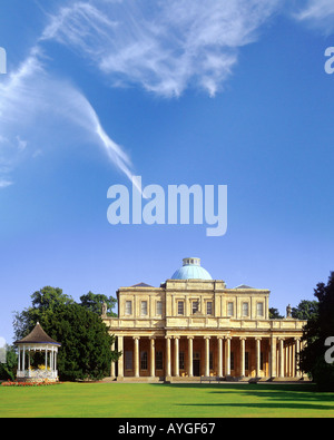 GB - GLOUCESTERSHIRE: The Pittville Pump Rooms at Cheltenham Spa - Stock Photo