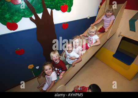 Amsterdam daycare centre de boefjes in trendy quarter de pijp - Stock Photo