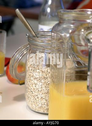 haferflocken oat flakes stock photo 88750514 alamy. Black Bedroom Furniture Sets. Home Design Ideas