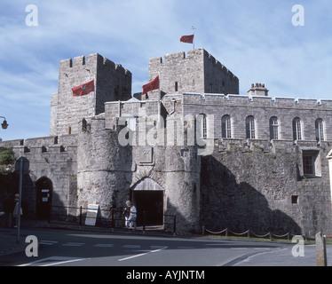 Catle Rushen, Castletown, Isle of Man - Stock Photo