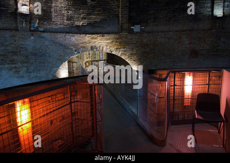 Interior of Red House Glass Cone in Stourbridge West Midlands - Stock Photo