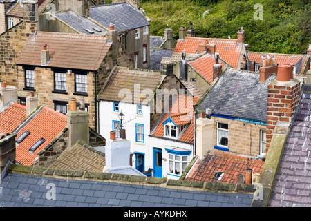 Chimney pots on the rooves of houses, Ramsgate Kent Stock ...