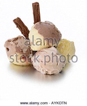 dairy ice cream - Stock Photo