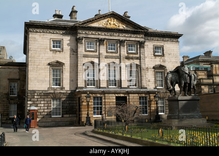 The Royal Bank of Scotland head office branch on St Andrew Square, Edinburgh - Stock Photo