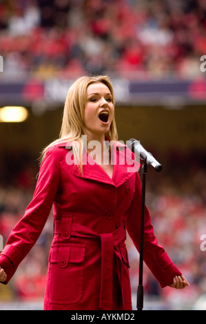 Welsh Soprano Katherine Jenkins - Stock Photo