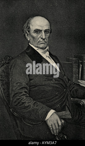 Daniel Webster, 1782 - 1852. American statesman, lawyer and orator. - Stock Photo