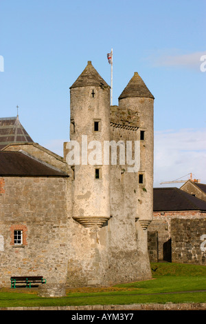 UK, Northern Ireland County Fermanagh Enniskillen Castle - Stock Photo