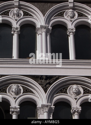 Victorian architecture Westbourne Grove London W2 England UK The building was formerly a theatre - Stock Photo