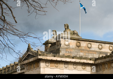 Roof of the Royal Scottish Academy, Edinburgh