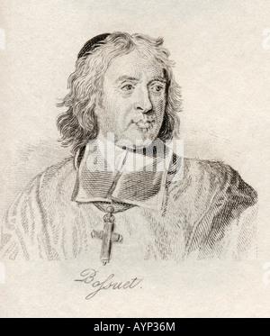 Jacques Benigne Bossuet Bishop Meaux 1627 1704 - Stock Photo
