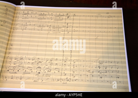 Prague Dvorak museum autograph score symphony 9 E-minor op 95 New
