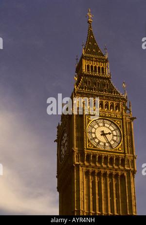 Clock tower, Big Ben, London, England, UK