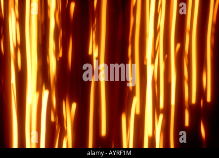 Abstract background made from out of focus lights - Stock Photo