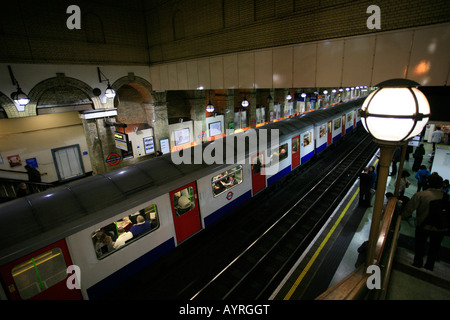 Gloucester Road tube station, London Underground connecting station, Circle and District Lines, London, England, - Stock Photo