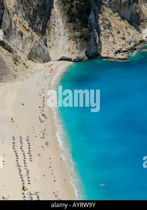 Mirtos Beach, Kefalonia, Ionian Islands, Greece - Stock Photo