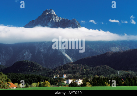 Fuessen, Saeuling, East Allgaeu, Bavaria, Germany, Europe - Stock Photo