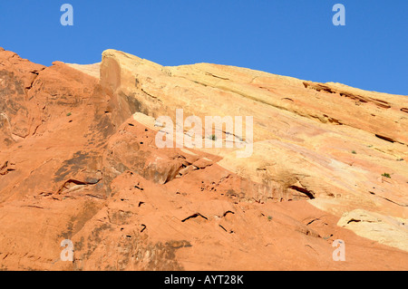 Rock formation in the Valley of Fire State Park in Nevada