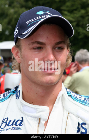 Nico Rosberg at the Goodwood Festival of Speed Stock Photo ...
