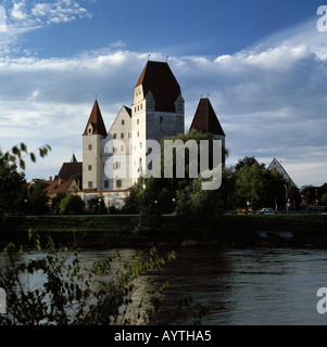 Neues Schloss in Ingolstadt, Oberbayern - Stock Photo