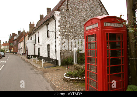Norfolk Cley next the Sea high street former Fishermens Arms - Stock Photo