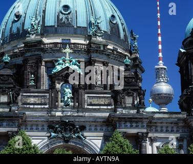 Kuppel Berliner Dom Hochrenaissance Berlin Stock Photo Alamy