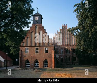 Zisterzienserkloster Zinna in Kloster Zinna, Niederer Flaeming, Brandenburg - Stock Photo