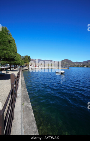 Pella, Lake Orta, Italy. - Stock Photo
